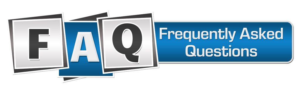 Banner image - FAQs